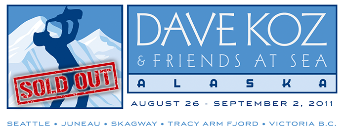2011 Dave Koz Cruise sold out logo
