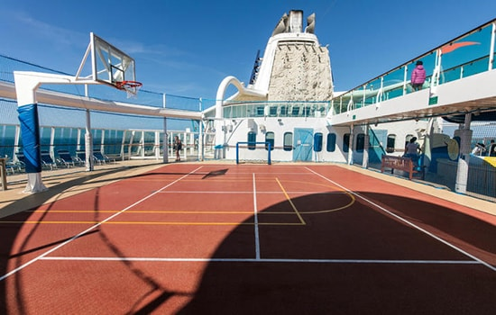 Sports Court Jewel of the Seas